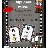 alphabet-mural-bleu-et-rouge-8-demi-X-11-Pirates-script-seulement-page-1